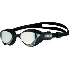 arena Cobra Tri Swipe Mirror Goggles silver/black